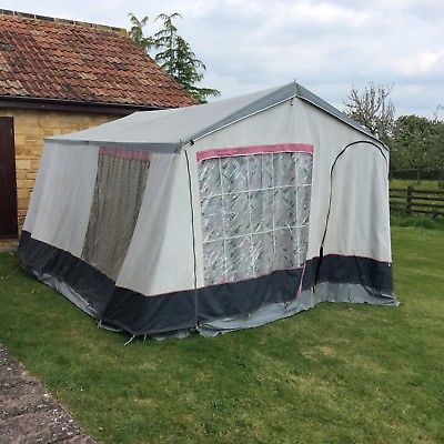 Conway Clipper Trailer Tent 4 8 People
